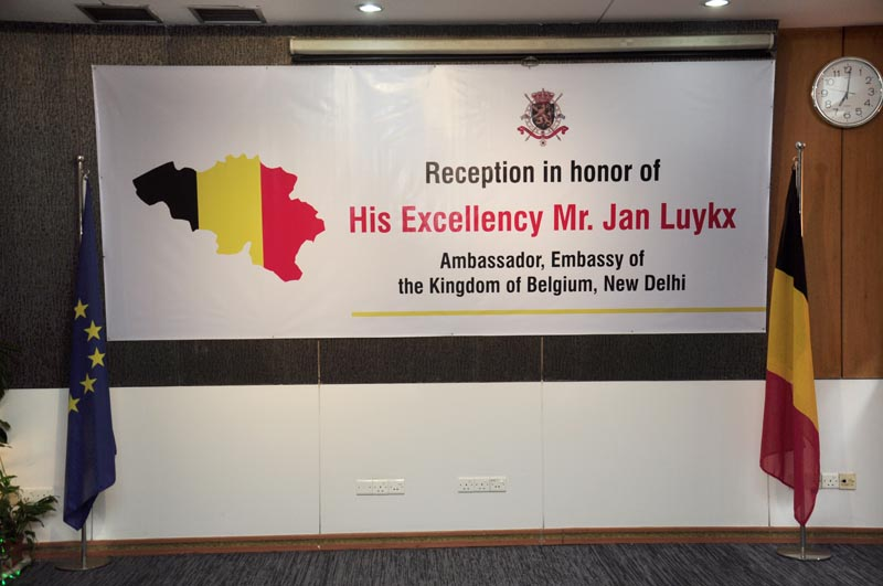 Ambassador, Embassy of the kingdom of belgium, New Delhi.