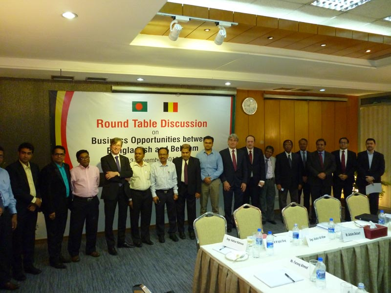 On Business Opportunities Between Bangladesh and Belgium (3rd November 2015)
